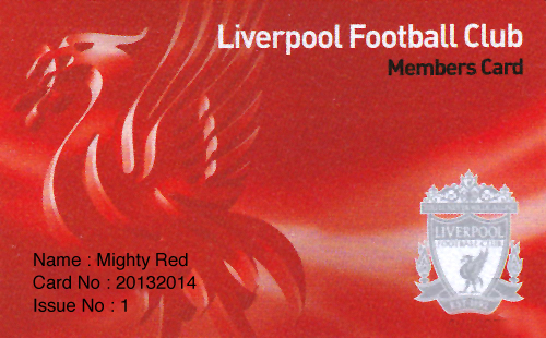 members card lfc