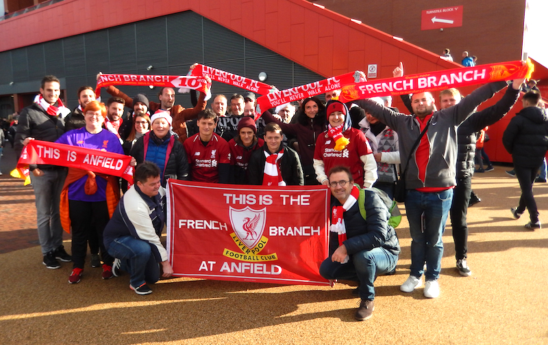 Liverpool France Anfeild