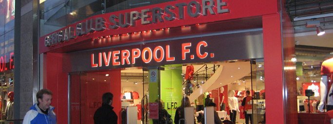 Liverpool ONE LFC Boutique