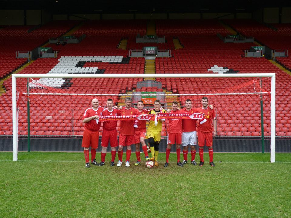 fb on anfield pitch