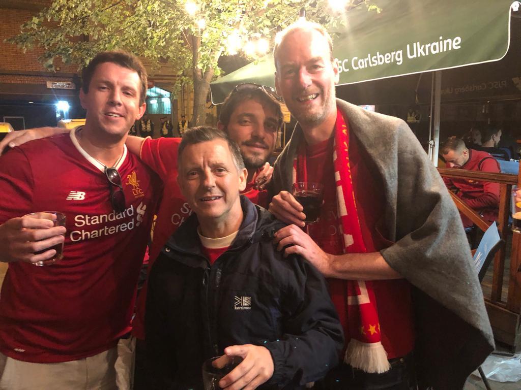 kiev 2018 membres après match