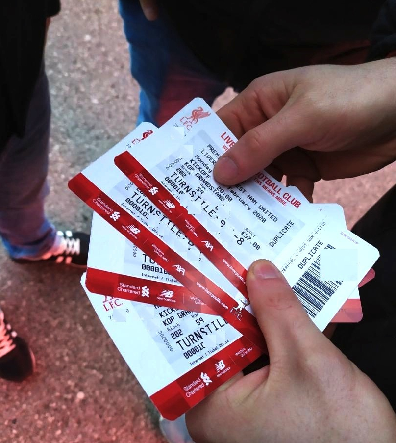 lfc paper tickets anfield