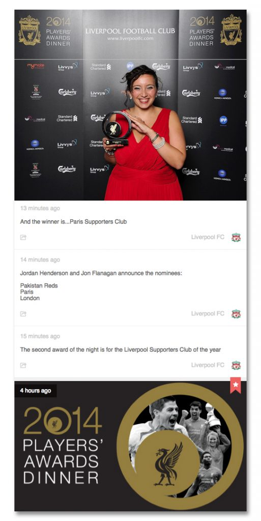 fb lfc players awards winner supporters club live lfc web site feed photos