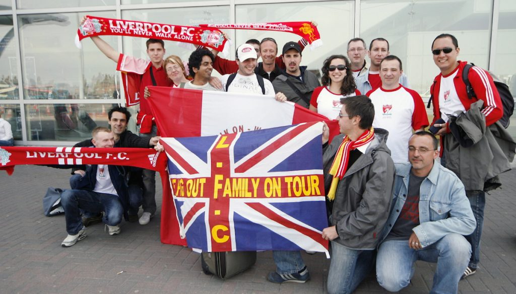 Liverpool JLA members OLSC France