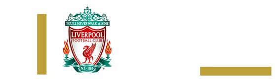 LIVERPOOL FC officiel rouge et blanc /écharpe YNWA